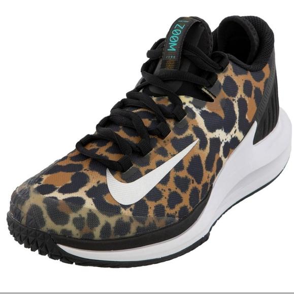 Nike Court Air Zoom Zero Leopard Print